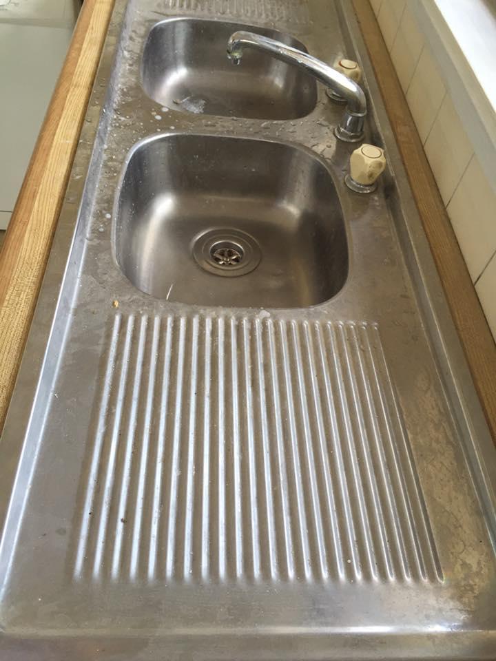Kitchen sink makeover #0