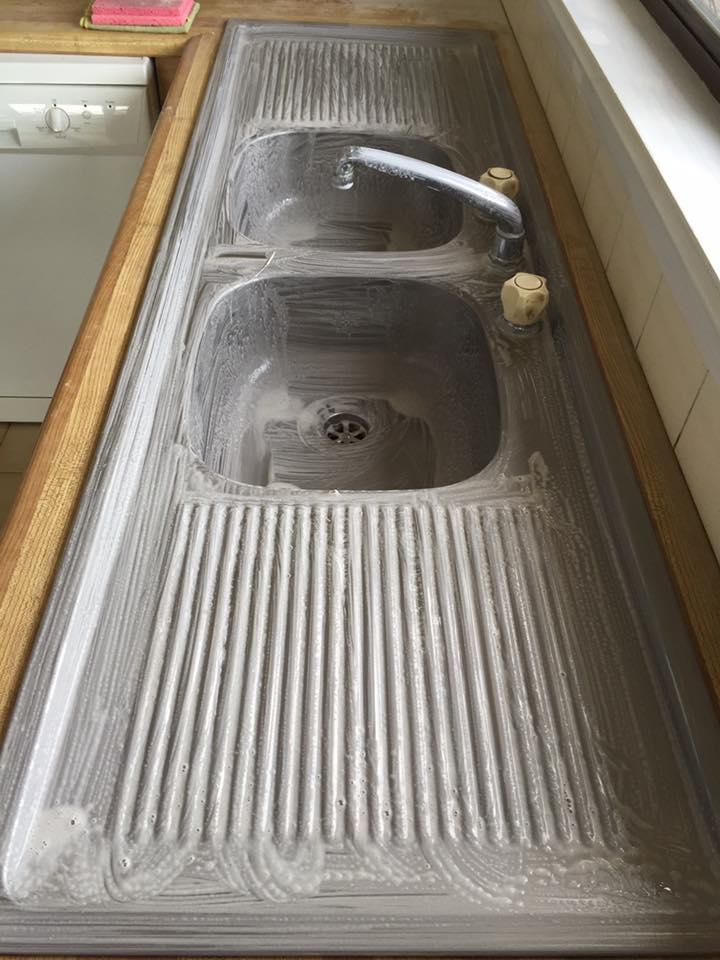 Kitchen sink makeover #1