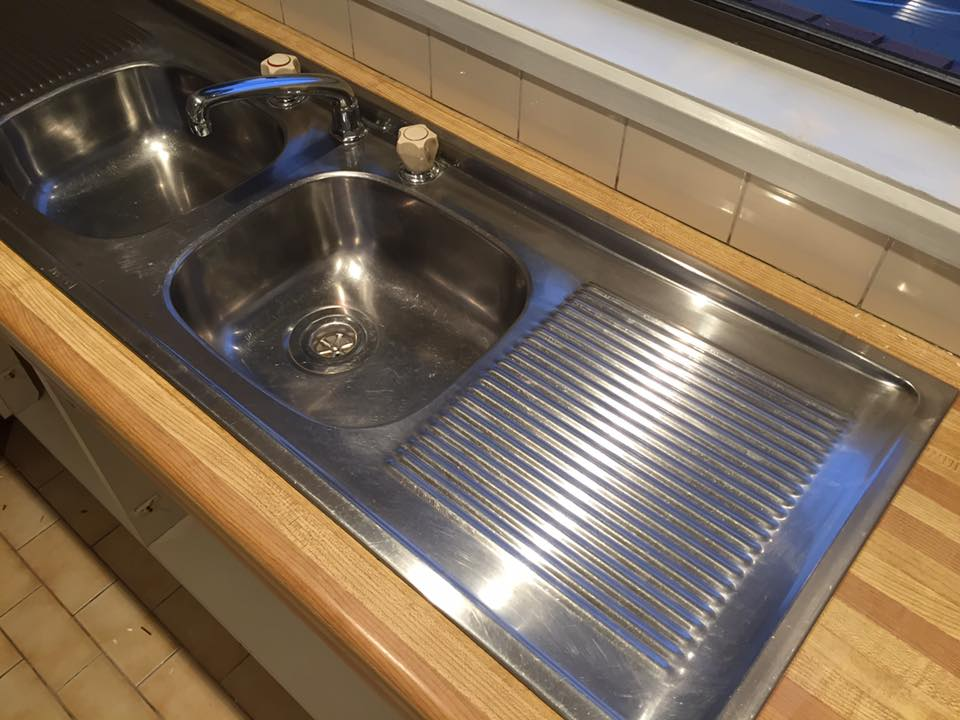 Kitchen sink makeover #4