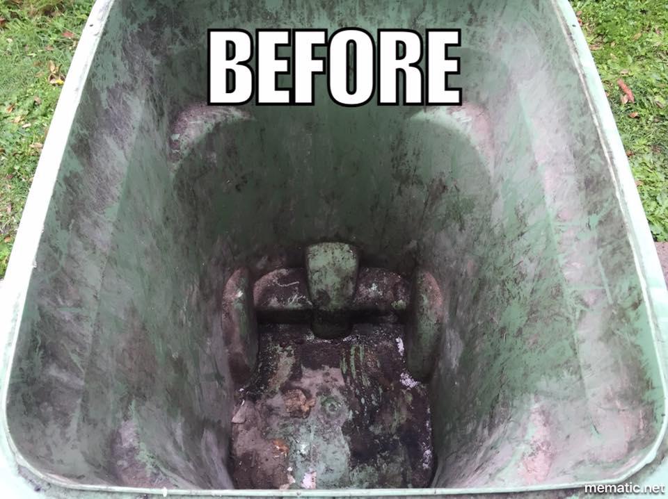 Waste Bin Before